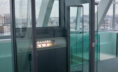 Installation d'une plateforme fermée pour personne à mobilité réduite à Boulogne (92) image 3