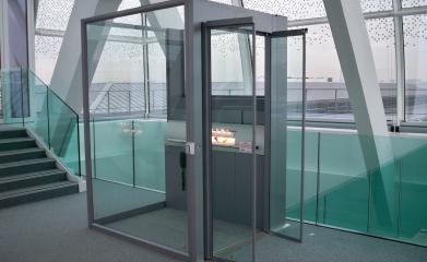 Installation d'une plateforme fermée pour personne à mobilité réduite à Boulogne (92) image 5