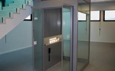 Installation d'une plateforme fermée pour personne à mobilité réduite à Boulogne (92) image 7