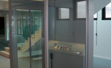 Installation d'une plateforme fermée pour personne à mobilité réduite à Boulogne (92) image 8